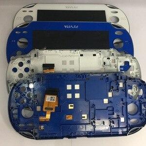 Image 1 - 파란색과 흰색 원래 새로운 wifh 프레임 ps vita psvita psv 1 1000 100x lcd 디스플레이 터치 스크린 디지털 조립