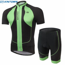 XINTOWN Mens Ropa Ciclismo Short Sleeve Ropa Ciclismo Cycling Jersey Outdoor Top Shirt Bicycle Bib Sports