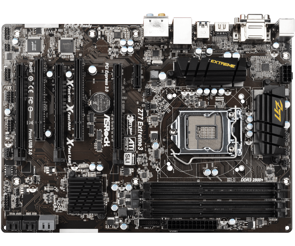 Used,Asrock Z77 Extreme3 Desktop Motherboard Z77 Socket LGA 1155 i3 i5 i7 DDR3 32G SATA3 USB3.0 ATX msi ph67a c43 original used desktop motherboard h67 socket lga 1155 i3 i5 i7 ddr3 32g sata3 usb3 0 atx