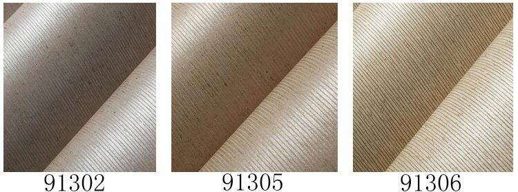 Vintage Beige Braun Vertikale Gestreifte Tapete Schlafzimmer