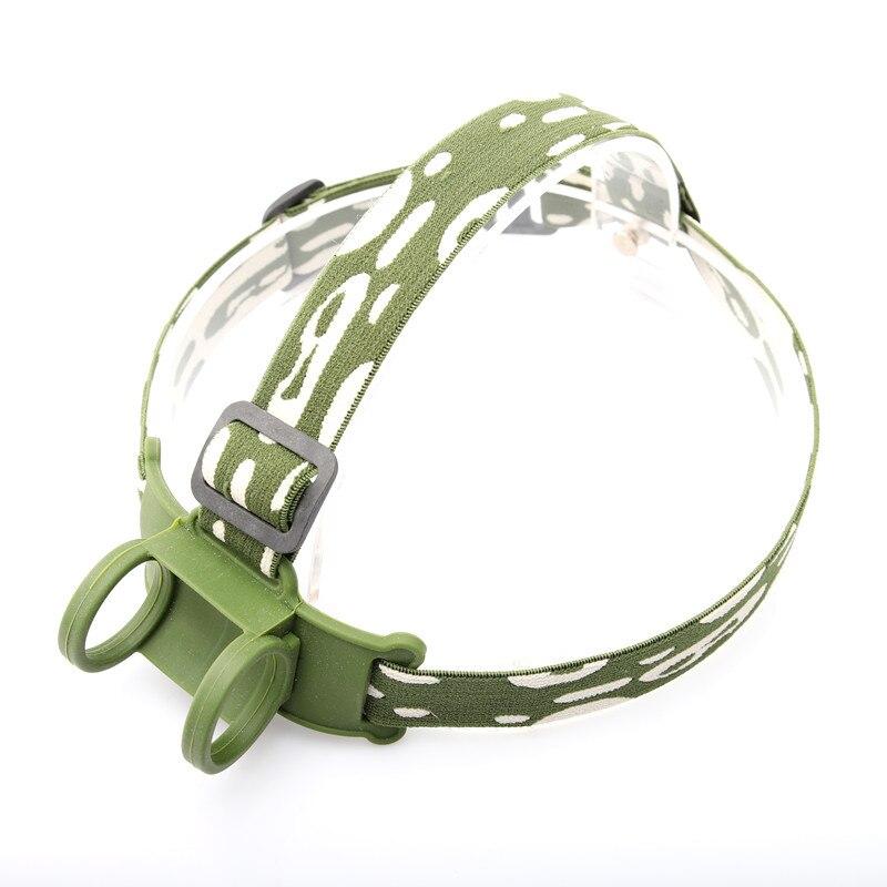 Yupard Headlamp Headband Head Belt Head Strap Mount Holder For 18650 Headlight Flashlight Lamp Torch