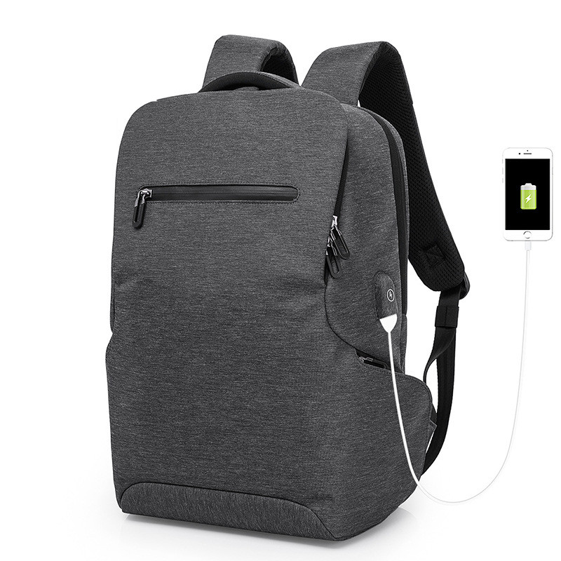 Laptop usb backpack men business schoolbag new fashion usb college student travelling bag computer backpack anti theft bagpack men backpack anti theft multifunctional oxford fashion college student school backpack password lock laptop computer bag