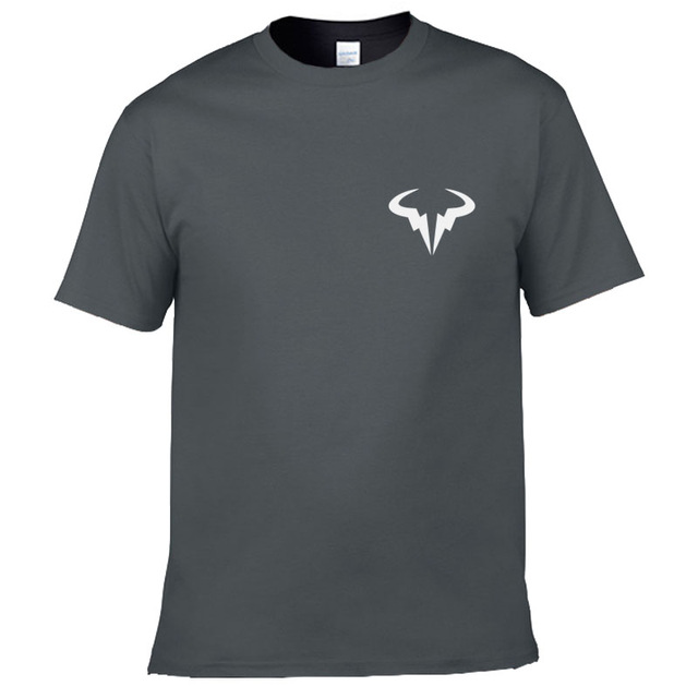 2018 new Mens Rafael Nadal Bull Logo T shirt Summer T Shirt Roger Federer Perfect RF Clothing,Men Cossfit Top-in T-Shirts from Men's Clothing on Aliexpress.com | Alibaba Group
