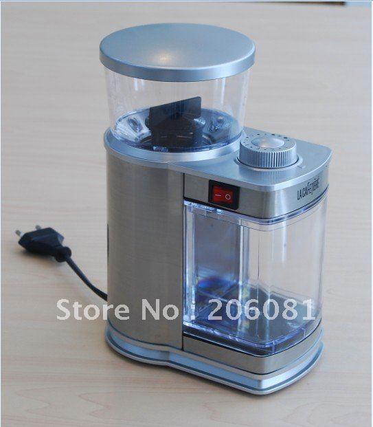 Lüks Paslanmaz çelik elektrikli Kahve değirmeni / cafe - Elektrikli Mutfak Aletleri - Fotoğraf 2