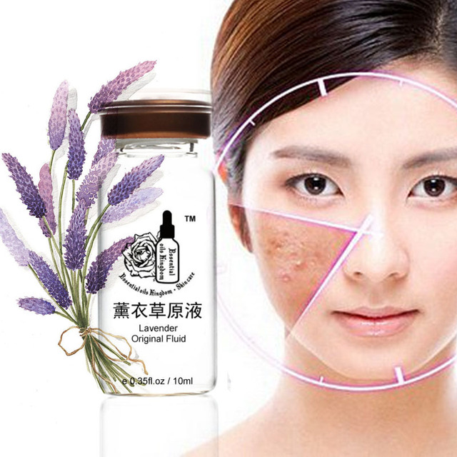 Lavender original liquid face care anti-wrinkle freckle removing hyaluronic acid moisturizing Firming anti aging 10ml*2pcs