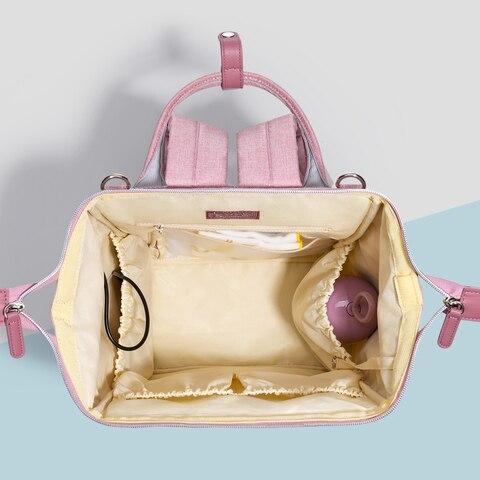 Sunveno Waterproof Diaper Bag Backpack Quilted Large Mum Maternity Nursing Bag Travel Backpack Stroller Baby Bag Nappy Baby Care Karachi
