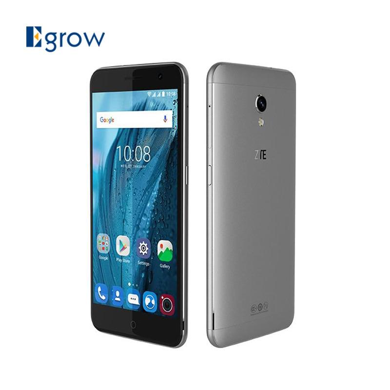 Цена за Оригинал zte blade v7 android 6.0 смартфон mt6753 octa ядро 5.2 дюймовый Мобильный Телефон 2 ГБ RAM + 16 ГБ ROM 4 Г LTE 13.0 МП Мобильного Телефона