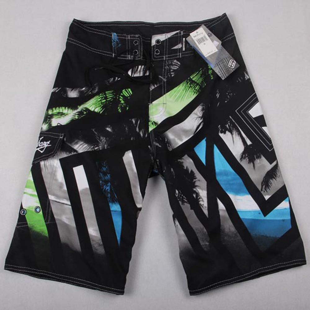 Board Shorts Beach Summer Casual Male Fashion Elastic-Waist Breathable Waterproof Men