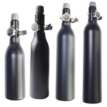 HPA бак 4500PSI бутылка алюминиевый цилиндр для стрельбы пожаротушения аквариум 0,2/0,26/0,35 л 5/8-18UNF TKU263545