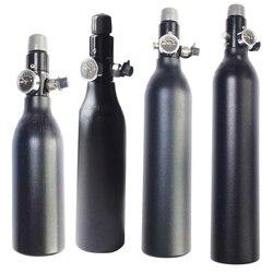 Envío Gratis tanque HPA 4500PSI botella cilindro de aluminio para disparar al acuario de lucha contra incendios 0,2/0,26/0,35/0.45L 5/8-18UNF TKU263545