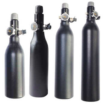 FREE SHIP HPA Tank 4500PSI Bottle Aluminium Cylinder For Shooting Fire Fighting Aquarium 0.2/0.26/0.35/0.45L 5/8-18UNF TKU263545 - DISCOUNT ITEM  0% OFF All Category
