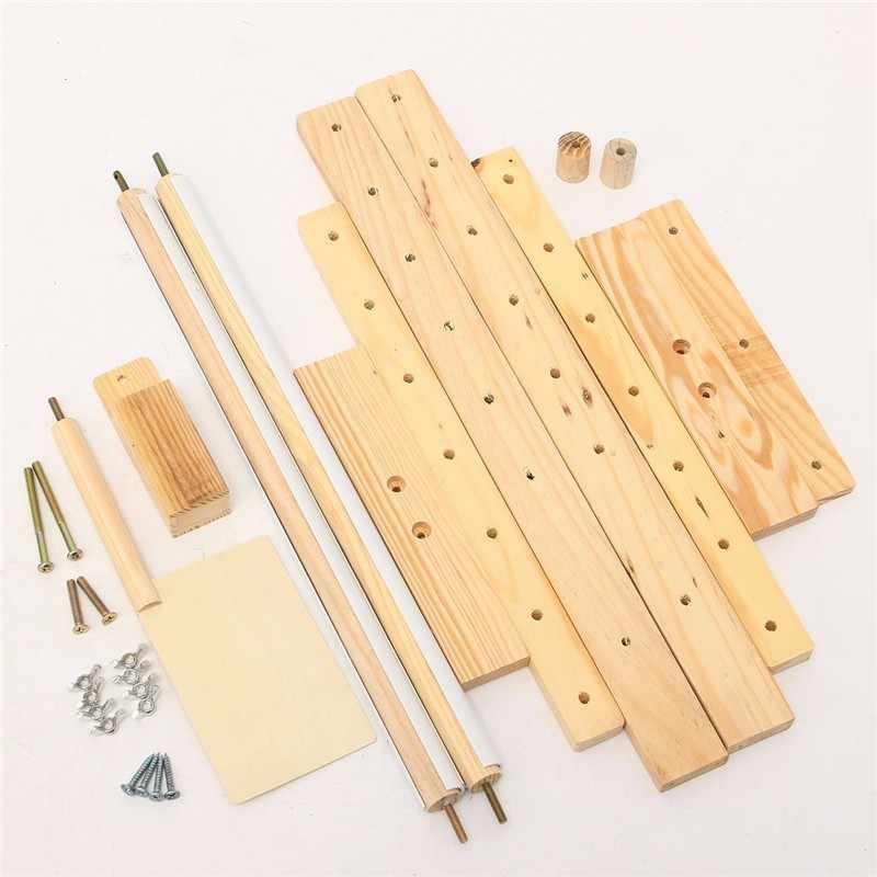 ปรับไม้กรอบ Tabletop Crossstitch ปักชั้นสำหรับเย็บปักถักร้อยทำด้วยมือเครื่องมือ