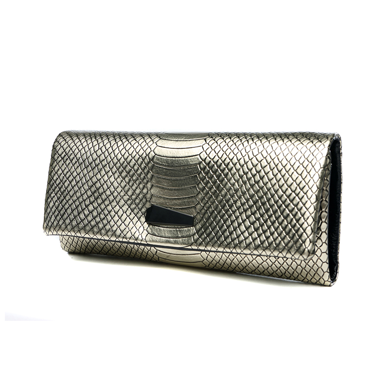 Top Quality Genuine Leather Serpentine Celebrity Clutch Wallet Famous Brands Vintage Long Purse Card Holder Evening Bag Hand Bag vintage serpentine genuine leather woman clutches evening bag crossbody chain shoulder bag handbag clutch wallet lady long purse