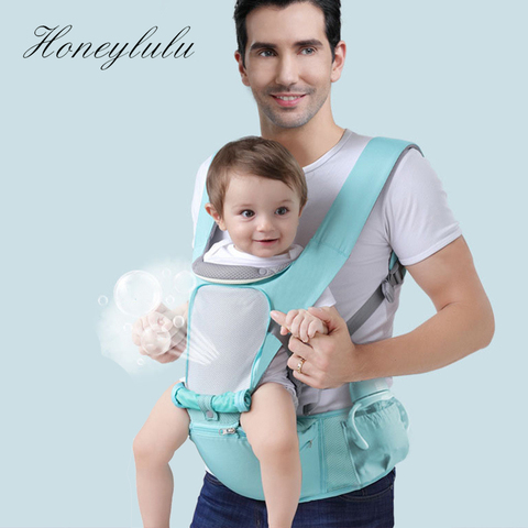 janela 3 em 1 honeylulu quatro estacoes portador de bebe respiravel sling para recem nascidos