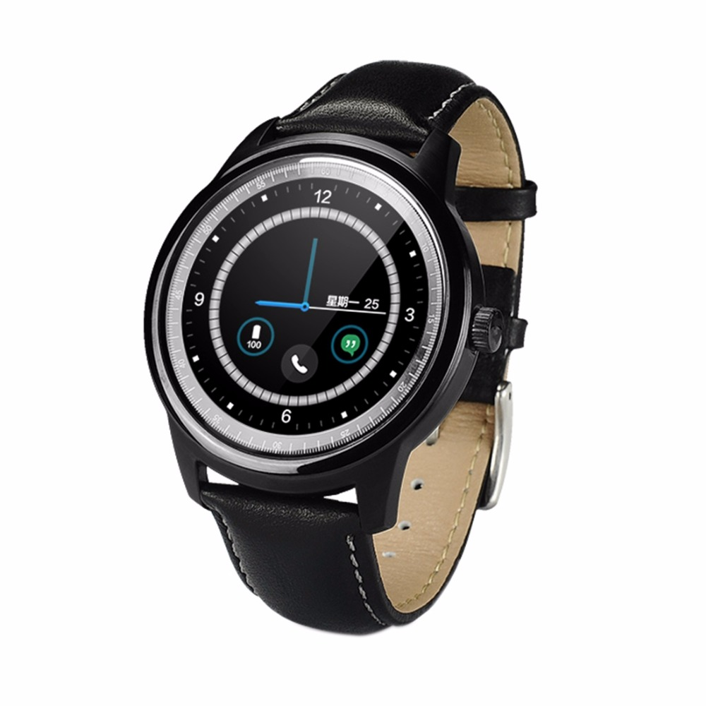 все цены на DOMINO DM365 1.33 inch On-cell IPS Full View Capacitive Touch Screen MTK2502A-ARM7 Bluetooth 4.0 Smart Watch Phone онлайн