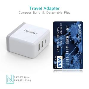 Image 3 - Delippo UL Listed 65W USB C Charger PD & QC 3.0 USB 3 in 1 Travel Wall Charger Compatible for iPhone tablet laptop and More