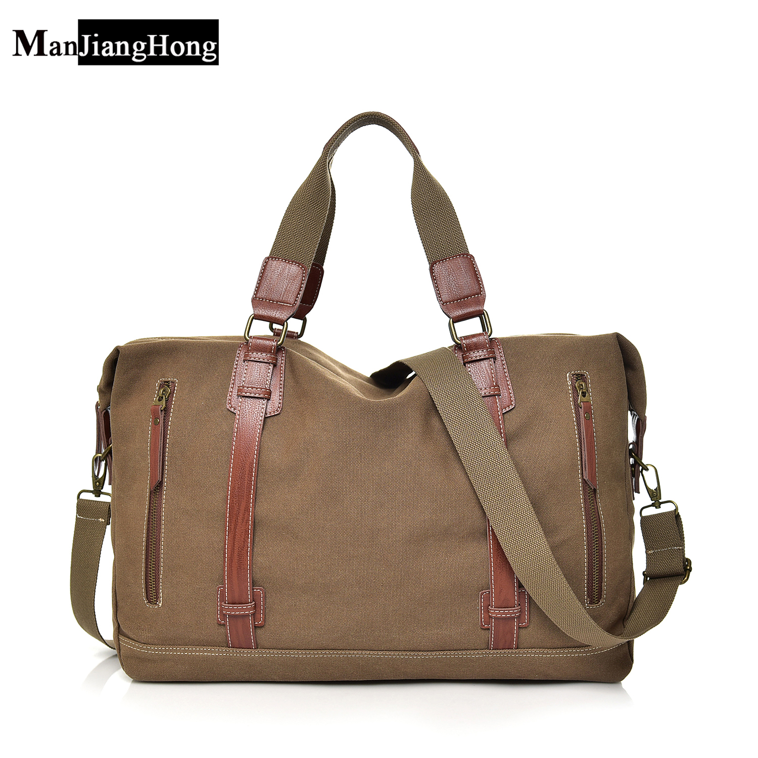 2018 New Vintage Men Canvas handbag High Quality Travel Bags Large Capacity Women Luggage Travel Duffle Bags Folding Bag bolsas 2017 new fashion brand vintage backpack large capacity men male luggage bag canvas travel bags top quality travel duffle bag man