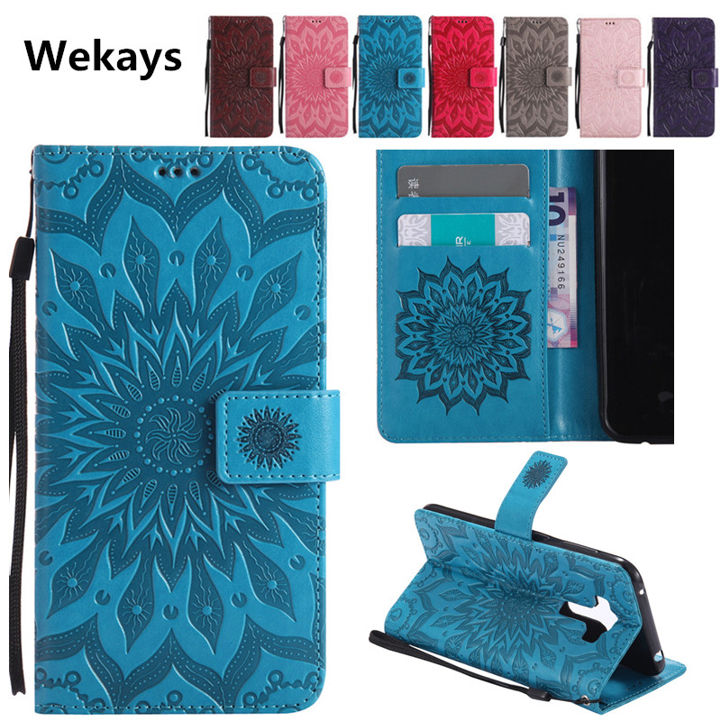 Luxury 3D Sun Flower Magnetic Slot Leather Flip Fundas Case For LG K3 K100 K100DS LS450 K4 K120e K130e K5 LTE X220 <font><b>X220DS</b></font> Cover image