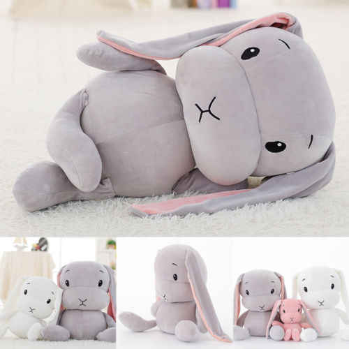 Cute Bunny Soft Plush Toys Rabbit Stuffed Baby Kids Gift Animals Doll 30cm
