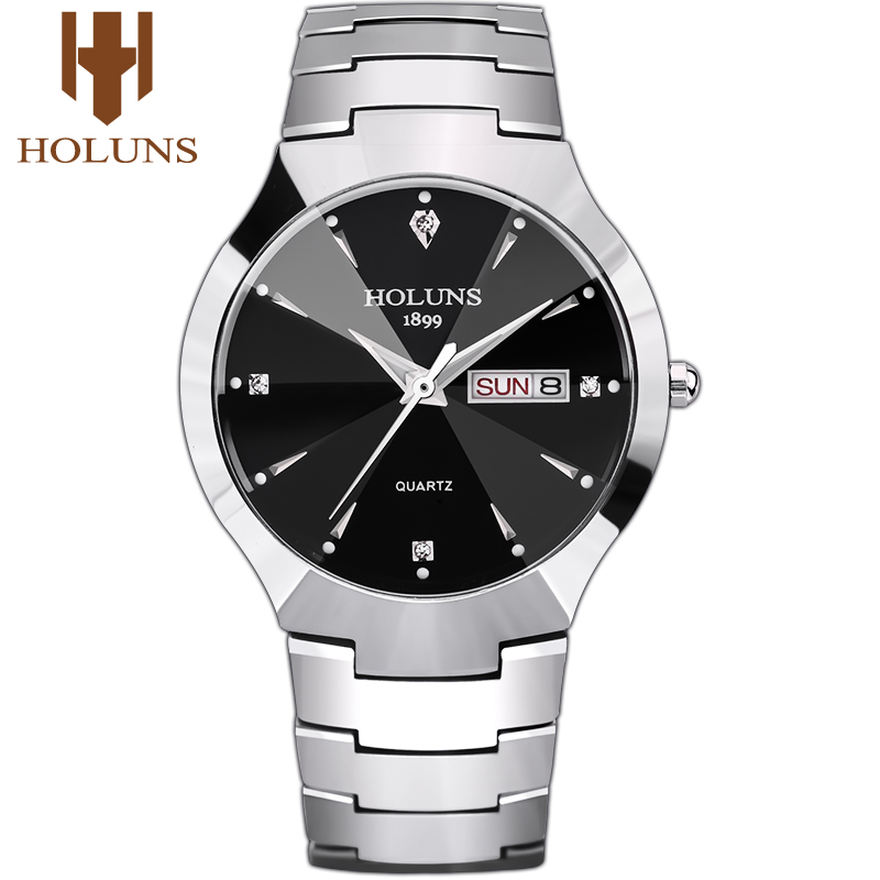 Holuns Dropshipping Mens Watches Top Brand Luxury Fashion & Casual Business Waterproof Wristwatches Men's watches Father's Day