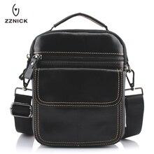 ZZNICK, bolsos de hombre de cuero genuino, bandolera con correa, pequeña solapa informal, bolso de mensajero de cuero para hombres, bolso de hombro para hombres 0051 *