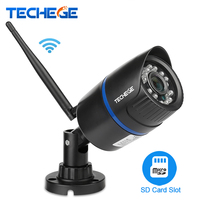 Techege 960P WIFI IP Camera 1 3MP Wireless Camera Waterproof Night Vision TF Card Slot Motion