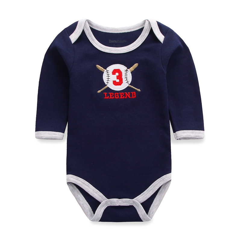 2017 Baby Bodysuits Body Baby Girl Boy Clothes Long Sleeve One-pieces Bodysuit for Newborns Children Cotton Overalls Clothing