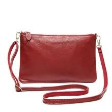 Small Genuine Leather Shoulder Bag