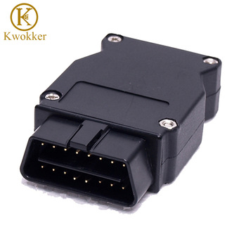 KWOKKER OBD Plug Adapter For bmw Enet Ethernet To OBD 2 E-SYS ICOM Coding F-series Interface Connector Cable Diagnostic Tool image