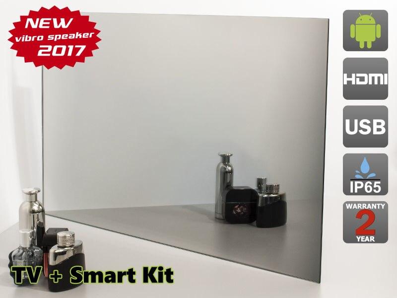 27 Waterproof Mirror Tv For Bathroom Smart Kit Analog Tuner Ntsc