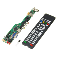 High Quality V56 Upgrade V59 Universal LCD TV Controller Driver Board PC/VGA/USB Interface