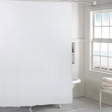 Homehold Bathroom Supplies Shower Curtain Thicken Cat Eye With Pockets Waterproof PEVA Bath Curtains