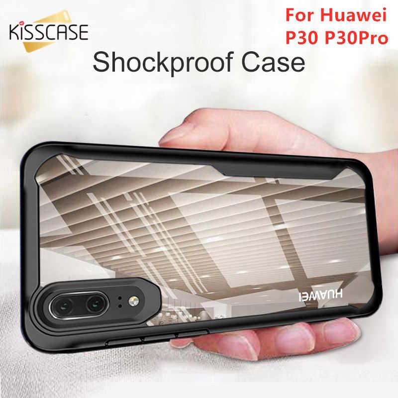 KISSCASE completa protección a prueba de golpes caso Huawei Mate 10 Pro 10 para Huawei Nova 4E 4 Honor V20 nebulosa coque Fundas bolsa