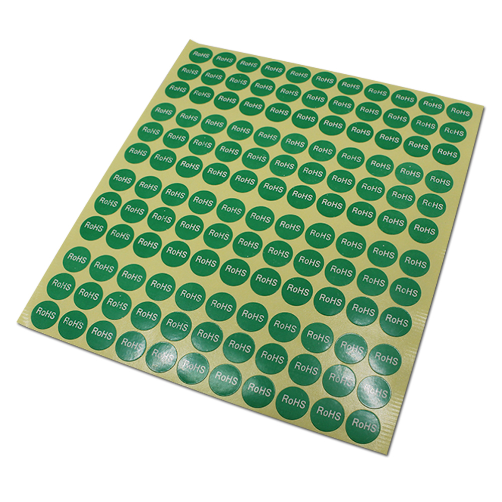 Retail Diameter 1.3cm / 2cm Round ROHS Environment Protecting Label Stickers Paper Sheet Electronic Products Packaging Labels diameter 1 3cm 2cm electronic products pack labels round rohs environment protecting label stickers
