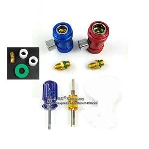 Image 5 - Qualidade superior r1234yf a/c conjunto de calibre coletor