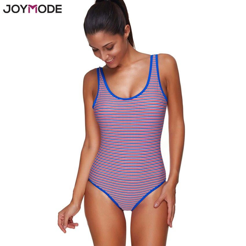 Gentle Joymode Swimsuit One Piece 2017 Push Up Backless Stripes Women Swimwear Swimsuit 3xl Plus Size Sexy Bathing Suit Yoga