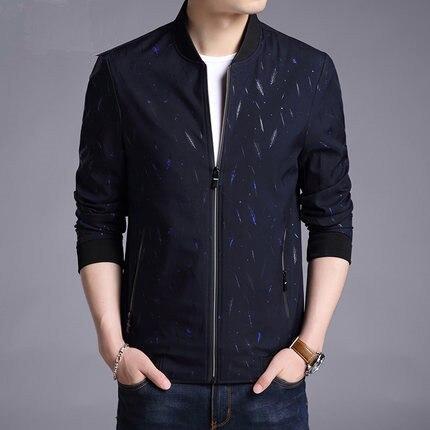 KMETRAM Giacca Uomo Casual Slim Mens Jacket Handsome Bomber Jacket Mens giacche e Cappotti Più Il Formato 3XL Jaqueta Masculina HH834 - 4
