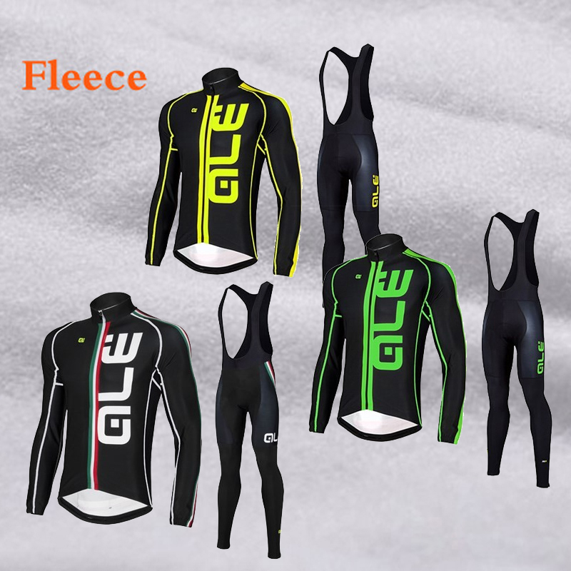 Winter Thermal Cycling Kit Men 5 Color Fleece Bike Ride wear Clothing MTB Jerseys Cycling Sets 2017 Bicycle Suit S-3XL baby digital fleece suit 2015 autumn winter wear new children s clothing male children s wear fleece draw string fleece pants