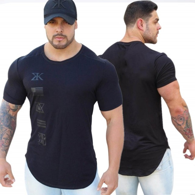 f2cd920142f 2018 New Gyms Fitne Engineers Design Male Novelty Men T shirt Fashion The  milk silk T