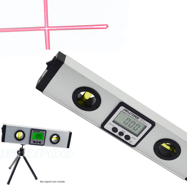Digital Angle Finder >> 400mm Digital Laser Level Digital Angle Finder Spirit Level Upright