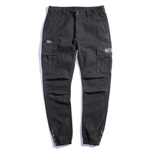 2018 Spring Casual Pants Men Hip hop Cargo pants High Quality Male Trousers Brand Harem Stretch Joggers Runner Pants For Man 38