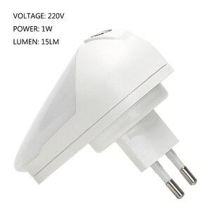 Image 4 - ITimo lampe intelligente pour chambre denfant, lampe murale à LED, avec prise deau, avec prise ue 1W, Rotation à 90 degrés