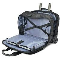 Seyahat masalı 19 inç iş gezisi Haddeleme Bagaj Çok Fonksiyonlu Bavul Tekerlekleri Erkek Taşıma Arabası pilot laptop çantası Seyahat Çantası