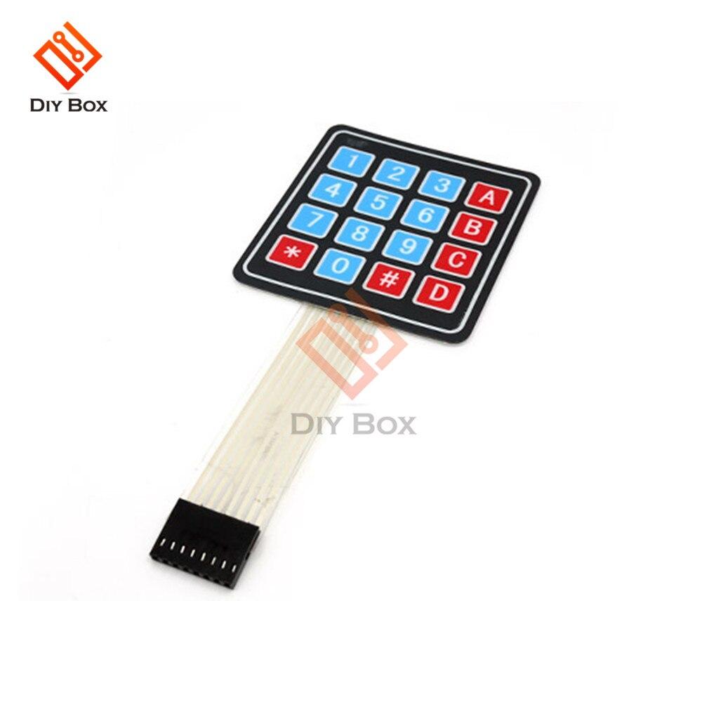 2Pcs 4 X 4 Matrix Array 16 Key Membrane Switch Key Pad Key Board For Arduino AVR PIC