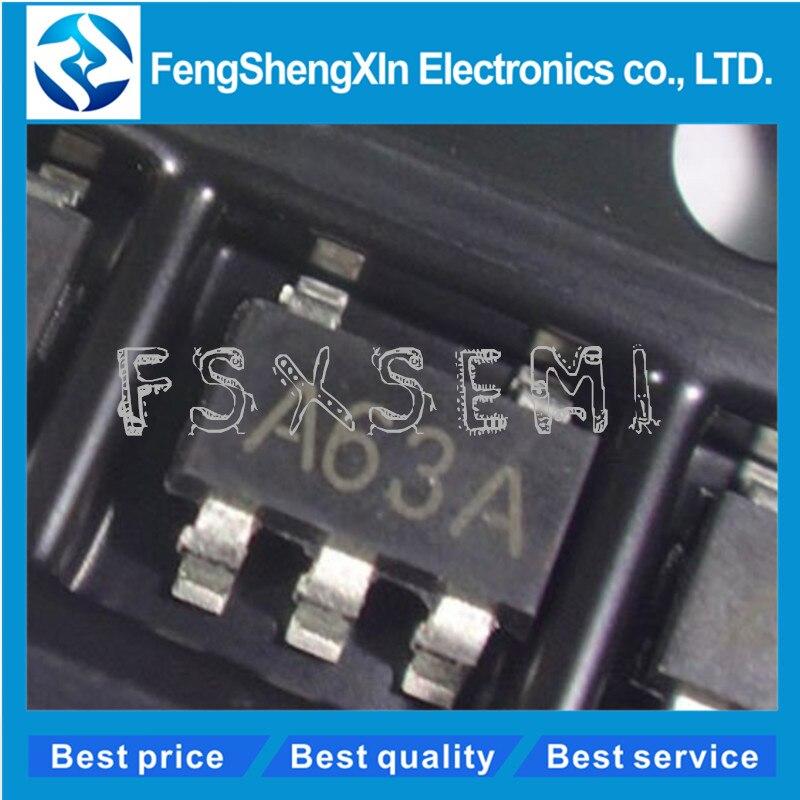 20 stks/partij LM321 LM321MFX A63A SOT-23 Low Power Single Op Amp