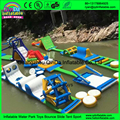 Guangzhou QinDa inflatable water park rental, used inflatable floating lake park for adults on sale