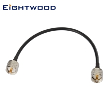 Eightwood UHF PL-259 к UHF PL-259 с низкой потерей цифровой коаксиальный UHF соединительный кабель HAM& CB радио, антенный анализатор, фиктивная нагрузка, КСВ метр
