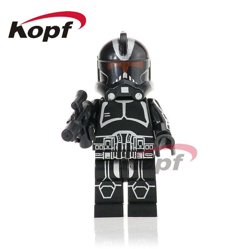 Single Sale PG756 Star Wars Black Clone Soldiers Stormtrooper Commander Kashyyyk Building Blocks Children Christmas Gift Toys projector lamp bulb an xr20l2 anxr20l2 for sharp pg mb55 pg mb56 pg mb56x pg mb65 pg mb65x pg mb66x xg mb65x l with houing