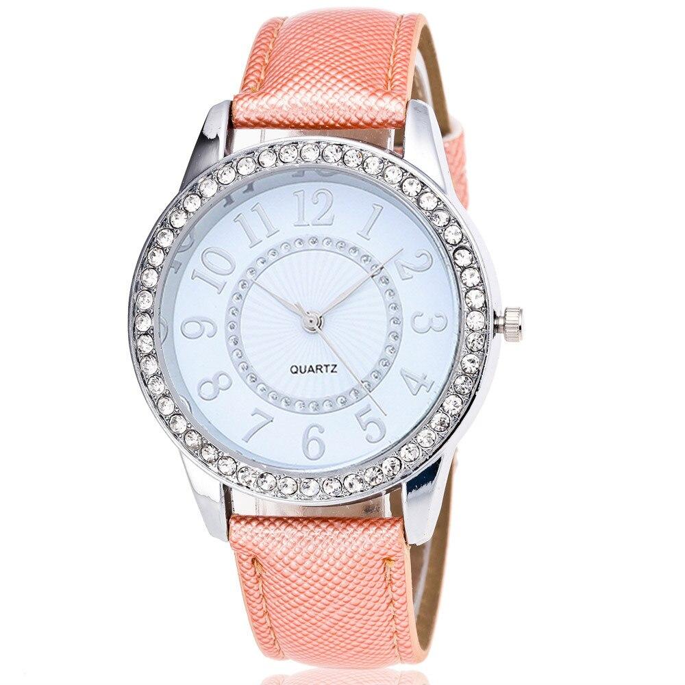 2018 Women Watch Simplicity Classic Wrist Fashion Casual Quartz High Quality Women's Watches Leather Relogio Masculino #T