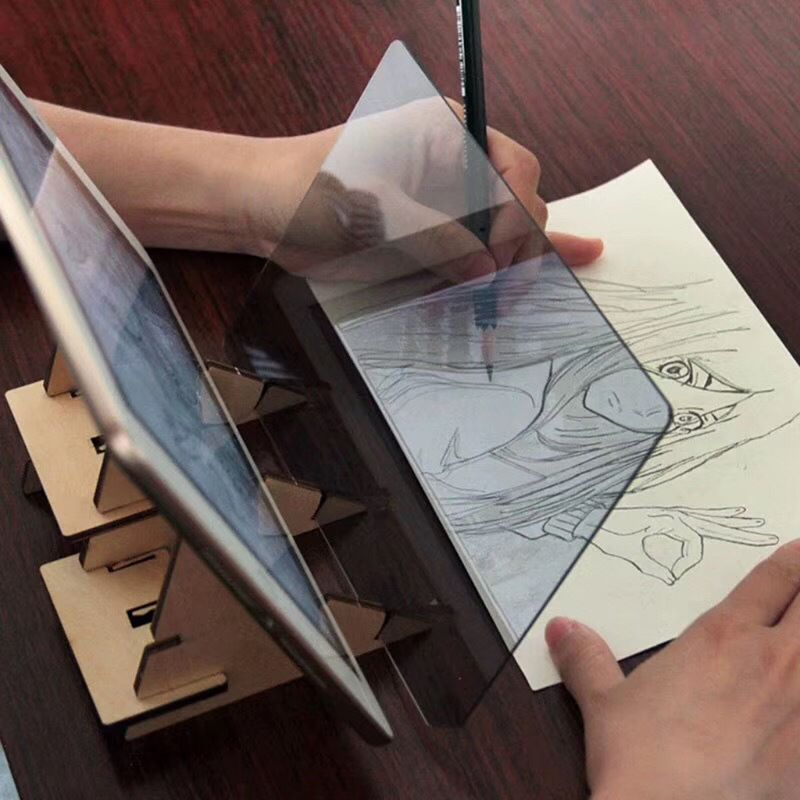 Children Kid Drawing Panel Tracing Board Set Copy Pad Crafts Portable Zero based Painting Mould Anime Sketch Art Learning Tool in Drawing Storage from Home Garden